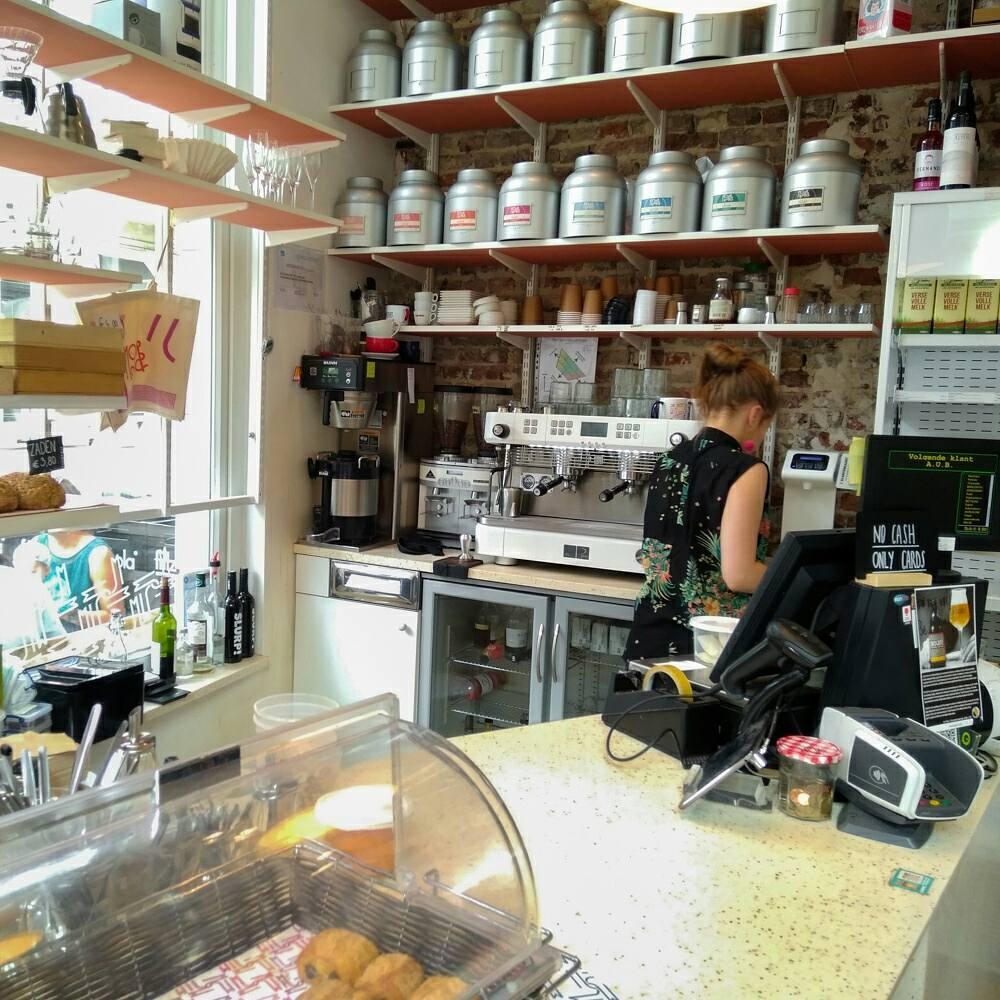Капучино в кофейне Moor&Moor в Генте