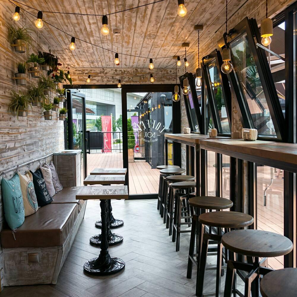 Капучино в кофейне Coffee Box в Box City