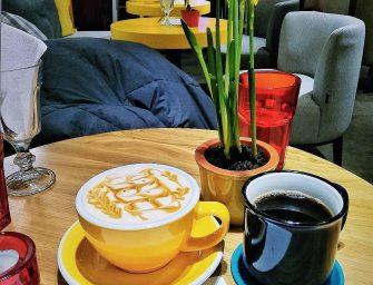 Цитрусовый Раф и фильтр-кофе в кофейне Вайт by Даблби